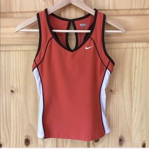 Nike Fit Dry active keyhole racer back tank Sz S